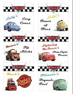 Disney Cars Party Ideas Free Printable DisneySide
