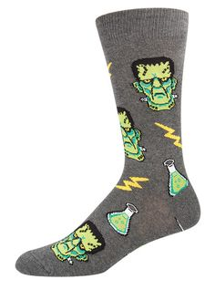 Crew Socks Vintage Halloween Owl Spider Pumpkin Athletic Socks Work Ankle Socks