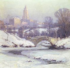 Central Park Art - Central Park by Colin Campbell Cooper