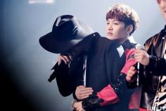 When Sungjae was crying during Hello Melody concert , Changsub who was standing at the other end went over to hug him