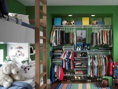 Kidsu0027 Closets: Clothing And Toy Storage For Boys And Girls Awesome Design