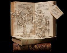 Een prachtig project van kunstenares Emma Taylor. Met 'From within a book' laat ze boeken, en de verhalen die ze bewaren, tot leven komen. www.belmondo.nl