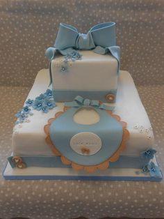Christening Luca Maria - Cake by Orietta Basso