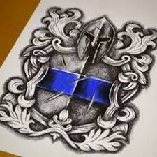 Image result for st. michael police tattoo