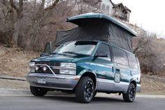 Astro camper van