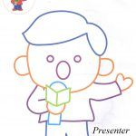 Presenter coloring pages