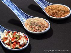 Kleiner Kuriositätenladen: Suppengewürz, ganz fix selbstgemacht