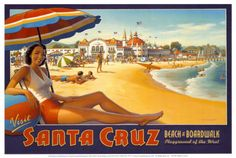 Santa Cruz, ca! Where I will be living in four months:D omg, can't wait!