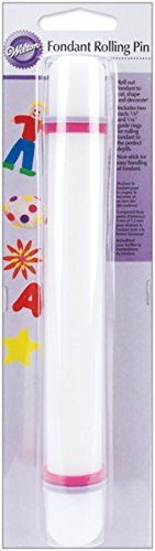 Wilton 19071211 Fondant Gum Paste Rolling Pin with Rings 20Inch 9 Inch * Read more at the image link.