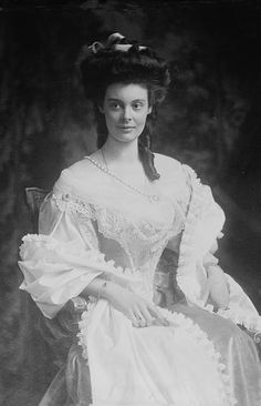 Duchess Cecilie of Mecklenburg-Schwerin (1886 – 1954) was German Crown Princess and Crown Princess of Prussia as the wife of German Crown Prince Wilhelm, the son of German Emperor Wilhelm II.