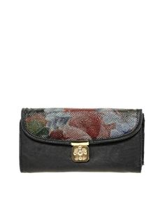 Max C Two Tone Floral Clutch $31.66
