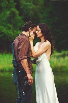 TWD | Rick and Ghost Lori