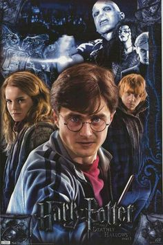 A fantastic movie poster of the cast from Harry Potter and the Deathly Hallows Part One! Published in 2010. Fully licensed. Ships fast. 22x34 inches. Check out the rest of our magical selection of Har