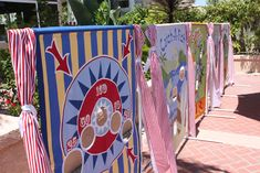 Carnival Side Stalls - Love this party Idea looks amazing, be lots of work to make the games up....