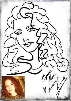 #draw #mangá #arte #technique #desenho #layout #blackandwhite #ilustration #character #design #Caricatura #cartoon #digitalart #art #digital #girl #friend #day #amizade #Hayanna #Maria #LuissandroAlmeida #Metalnude #criations