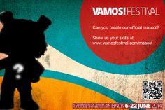 Vamos campaign - mock up flyer.