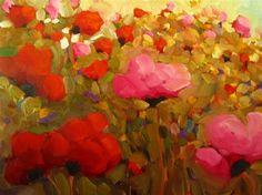 """""""Meadowlands, a new painting"""" - Original Fine Art for Sale - © Dee Sanchez"""