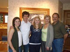 "Meghan-Gianluca-Jona-Joni-Randy. Great family memories. ""2010"""