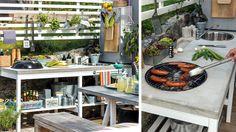 Det är inne med utekök – inte så konstigt, för här får du det bästa av alla världar: att laga mat utomhus! Här berättar Felix Meyer om hur han och sambon Eugenia byggde eget utekök hemma på altanen.