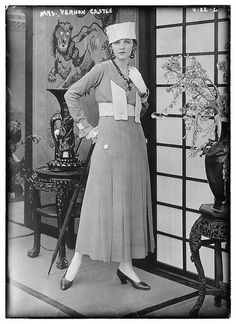 Mrs. Vernon Castle (LOC) Irene Castle, the dancer