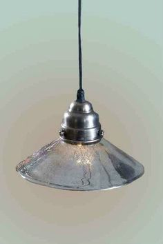 Classic Mercury Glass Pendant Lighting by Vagabond Vintage features an industrial style mercury glass shade. A perfect lighting choice for your kitchen lighting