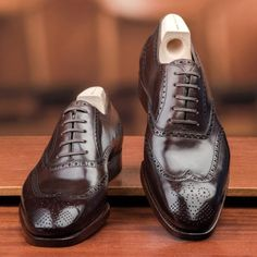 Mod. 657 - Chiseled last in Chocolate Brown