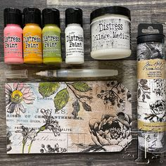 Tim Holtz Distress Ink, Distress Markers, Tim Holtz Stamps, Ink Stamps, Distress Ink Techniques, Ink Instagram, Ranger Ink, Distressed Painting, Card Making Techniques