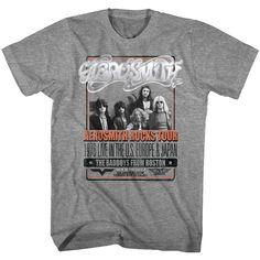 a3f4082a2 Aerosmith Rocks Tour 1976 Badboys from Boston Men's T Shirt #aerosmith  #steventyler #aerosmithtshirt