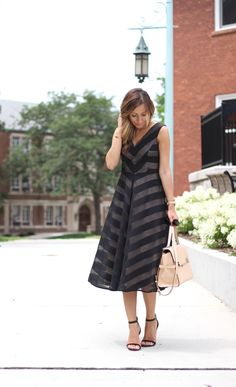 Lilly Style: fit and flare dress