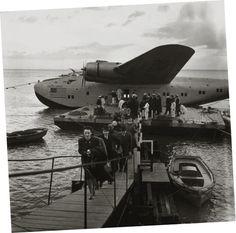 Aeroporto de Cabo Ruivo, Lisboa (B.Hoffman, Life, 1940)