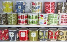 print & pattern: MUGS - orla kiely