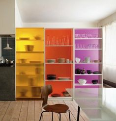 DIY Project Planning Inspiration: Multicolored Storage Done Right