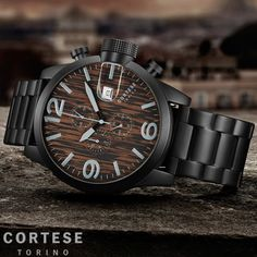 Cortese Gran Torino Wood Chronograph C12005