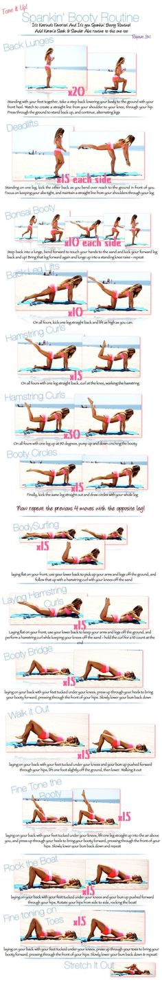 Heres a great home butt and leg workout you should try. You can do it every day if you'd like. #bootyworkout