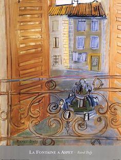 Raoul Dufy warm colors Fauvism