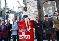 Girls Who Like Boys Who Like Girls' Fashion: Alexa Chung Shops the Men's Shows in London