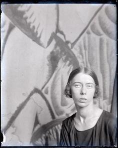 Bronislava Nijinska, Paris, ca. 1922 -by Man Ray from Centre Pompidou Chagalov