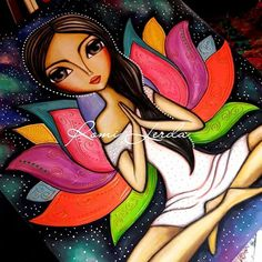 ideas for painting acrylic mermaid artists Art Pop, Dot Art Painting, Painting & Drawing, Mandala Art, Art Drawings Sketches, Whimsical Art, Indian Art, Painting Inspiration, Diy Art