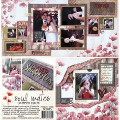 Celebr8 Soul Mates Film Strip, Print And Cut, Scrapbooking Layouts, Soul Mates, Prints, Cards, Paper Crafts, Filmstrip, Tissue Paper Crafts