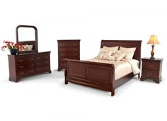 LOUIS PHILIPPE 5 Piece bed room set
