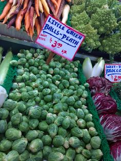 LITTLE GREEN BALLS OF DEATH from Pike's Place