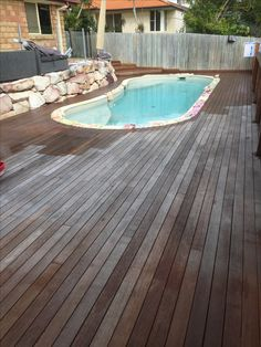 Oiling a timber deck in Springfield Brisbane Deck Cleaning, Timber Deck, Gold Coast, Brisbane, Exterior, Outdoor Decor, House, Home, Outdoor Rooms