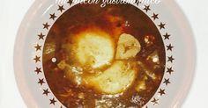 -Una sopa que para estos dìas viene fantástica y muy rápidaINGREDIENTES: - 12 dientes de ajo - 150gr. de jamón serrano a taquitos - 100gr. de chorizo cantimpalo troceado - 4 rebanadas de pan tostado y trocedo en pequeño - 1 cucharada de pimentón dulce y una pizca de picante - 1 pizca de ñora(opcional) - 1 litro de caldo de pollo o en su defecto una pastilla - 4 huevos - 4 cucharadas de aceite de olivaELABORACIÓN: - ponemos el aceite en la cubeta y programamos menú freir - añadimos los ajos…