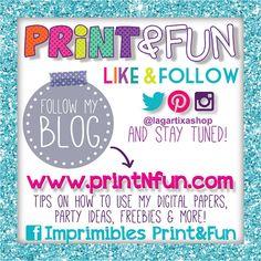 Arcoiris Papel Digital Fondos arcoiris confetti por Printnfun