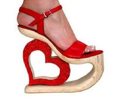 Funky, Funny, Crazy, Strange, Weird Shoes Heels Stuff pictures