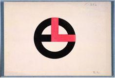 Design for a Monogram: E.L. 1930–45 Designer: Jean Elysée Puiforcat French, 1897–1945