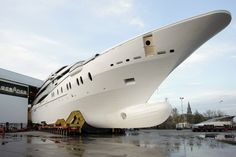 New 280 ft, Oceanco motor yacht Big Yachts, Super Yachts, Luxury Yachts, Sport Boats, Private Yacht, Yacht Boat, Motor Yacht, Boat Design, Yachts