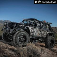 When the Zombies come we want this one. And a .50 cal... and maybe a chainsaw or two #TrailReaper by @DoetschOffRoad