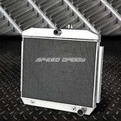3-ROW/TRI-CORE ALUMINUM RACING RADIATOR 55-57 CHEVY SMALL BLOCK 150/210 SBC V8