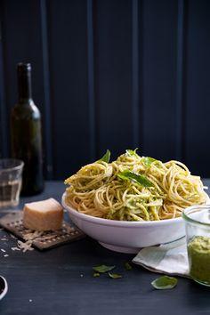 spring onion pesto / the kitchen finesse